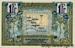 1 Franc FRANCE régionalisme et divers Alais, Arles, Avignon, Gap, Marseille, Nîmes, Toulon 1918 JP.102.12 SPL à NEUF