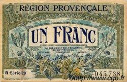 1 Franc FRANCE régionalisme et divers ALAIS, ARLES, AVIGNON, GAP, MARSEILLE, NÎMES, TOULON 1918 JP.102.12 TTB à SUP