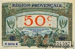 50 Centimes FRANCE régionalisme et divers ALAIS, ARLES, AVIGNON, GAP, MARSEILLE, NÎMES, TOULON 1918 JP.102.13 SPL à NEUF
