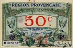 50 Centimes FRANCE régionalisme et divers Alais, Arles, Avignon, Gap, Marseille, Nîmes, Toulon 1918 JP.102.13 TTB à SUP
