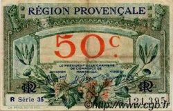 50 Centimes FRANCE régionalisme et divers ALAIS, ARLES, AVIGNON, GAP, MARSEILLE, NÎMES, TOULON 1918 JP.102.13 TB