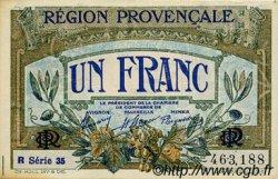 1 Franc FRANCE régionalisme et divers Alais, Arles, Avignon, Gap, Marseille, Nîmes, Toulon 1918 JP.102.18 SPL à NEUF