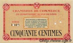 50 Centimes FRANCE régionalisme et divers Puy-De-Dôme 1920 JP.103.02 SPL à NEUF