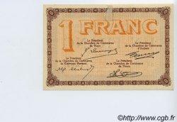 1 Franc FRANCE régionalisme et divers PUY-DE-DÔME 1918 JP.103.08 TTB à SUP