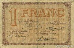 1 Franc FRANCE régionalisme et divers PUY-DE-DÔME 1920 JP.103.08 TB