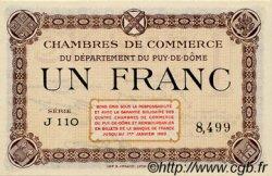 1 Franc FRANCE régionalisme et divers Puy-De-Dôme 1918 JP.103.16 SPL à NEUF