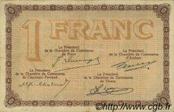 1 Franc FRANCE régionalisme et divers Puy-De-Dôme 1920 JP.103.16 TTB à SUP
