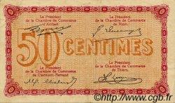 50 Centimes FRANCE régionalisme et divers Puy-De-Dôme 1918 JP.103.19 TTB à SUP