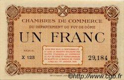 1 Franc FRANCE régionalisme et divers Puy-De-Dôme 1918 JP.103.20 TTB à SUP