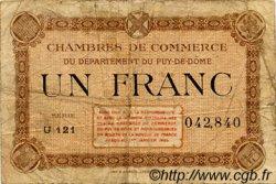 1 Franc FRANCE régionalisme et divers Puy-De-Dôme 1918 JP.103.21 TB