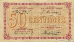 50 Centimes FRANCE régionalisme et divers Puy-De-Dôme 1918 JP.103.23 TB