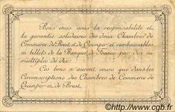 50 Centimes FRANCE régionalisme et divers Quimper et Brest 1915 JP.104.01 TTB à SUP
