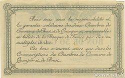 50 Centimes FRANCE régionalisme et divers QUIMPER ET BREST 1915 JP.104.04 SPL à NEUF