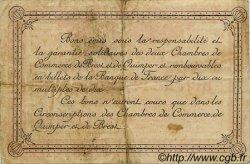 2 Francs FRANCE régionalisme et divers Quimper et Brest 1915 JP.104.06 TB