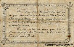 50 Centimes FRANCE régionalisme et divers QUIMPER ET BREST 1917 JP.104.07 TB