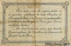 1 Franc FRANCE régionalisme et divers QUIMPER ET BREST 1917 JP.104.08 TB