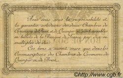 50 Centimes FRANCE régionalisme et divers Quimper et Brest 1918 JP.104.10 TB