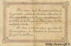 2 Francs FRANCE régionalisme et divers Quimper et Brest 1918 JP.104.12 TTB à SUP