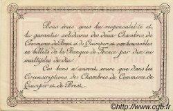 2 Francs FRANCE régionalisme et divers Quimper et Brest 1920 JP.104.18 TTB à SUP