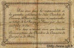 2 Francs FRANCE régionalisme et divers Quimper et Brest 1921 JP.104.21 TB
