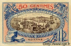 50 Centimes FRANCE régionalisme et divers ROANNE 1917 JP.106.09 SPL à NEUF