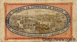 1 Franc FRANCE régionalisme et divers ROANNE 1917 JP.106.12 TB