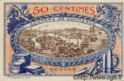 50 Centimes FRANCE régionalisme et divers Roanne 1917 JP.106.16 TTB à SUP