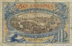 50 Centimes FRANCE régionalisme et divers ROANNE 1917 JP.106.16 TB