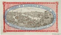 1 Franc FRANCE régionalisme et divers Roanne 1917 JP.106.17 SPL à NEUF