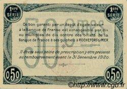 50 Centimes FRANCE régionalisme et divers Rochefort-Sur-Mer 1915 JP.107.01 SPL à NEUF