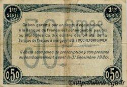 50 Centimes FRANCE régionalisme et divers Rochefort-Sur-Mer 1915 JP.107.01 TB