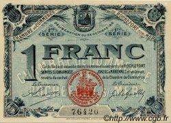 1 Franc FRANCE régionalisme et divers ROCHEFORT-SUR-MER 1915 JP.107.04 SPL à NEUF