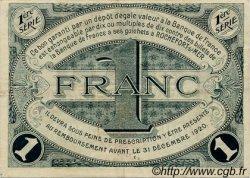 1 Franc FRANCE régionalisme et divers ROCHEFORT-SUR-MER 1915 JP.107.04 TTB à SUP