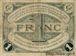 1 Franc FRANCE régionalisme et divers ROCHEFORT-SUR-MER 1915 JP.107.04 TB