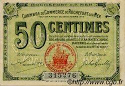 50 Centimes FRANCE régionalisme et divers Rochefort-Sur-Mer 1915 JP.107.07 TTB à SUP