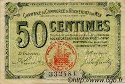 50 Centimes FRANCE régionalisme et divers ROCHEFORT-SUR-MER 1915 JP.107.07 TB