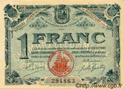 1 Franc FRANCE régionalisme et divers ROCHEFORT-SUR-MER 1915 JP.107.09 TTB à SUP
