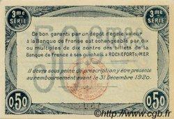 50 Centimes FRANCE régionalisme et divers Rochefort-Sur-Mer 1915 JP.107.11 SPL à NEUF
