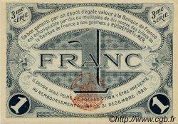 1 Franc FRANCE régionalisme et divers ROCHEFORT-SUR-MER 1915 JP.107.13 SPL à NEUF