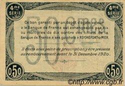 50 Centimes FRANCE régionalisme et divers Rochefort-Sur-Mer 1915 JP.107.15 TTB à SUP