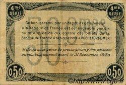 50 Centimes FRANCE régionalisme et divers ROCHEFORT-SUR-MER 1915 JP.107.15 TB