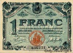 1 Franc FRANCE régionalisme et divers Rochefort-Sur-Mer 1915 JP.107.16 SPL à NEUF