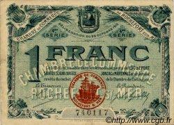 1 Franc FRANCE régionalisme et divers ROCHEFORT-SUR-MER 1915 JP.107.16 TTB à SUP