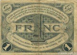 1 Franc FRANCE régionalisme et divers ROCHEFORT-SUR-MER 1915 JP.107.16 TB