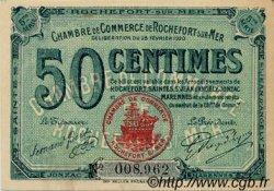 50 Centimes FRANCE régionalisme et divers Rochefort-Sur-Mer 1920 JP.107.17 SPL à NEUF