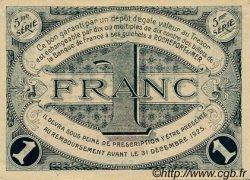1 Franc FRANCE régionalisme et divers ROCHEFORT-SUR-MER 1920 JP.107.19 TTB à SUP