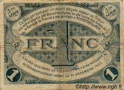 1 Franc FRANCE régionalisme et divers Rochefort-Sur-Mer 1920 JP.107.19 TB