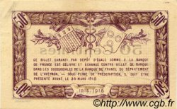50 Centimes FRANCE régionalisme et divers RODEZ ET MILLAU 1915 JP.108.01 TTB à SUP