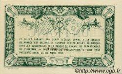 1 Franc FRANCE régionalisme et divers Rodez et Millau 1915 JP.108.06 SPL à NEUF