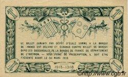 1 Franc FRANCE régionalisme et divers RODEZ ET MILLAU 1915 JP.108.07 TTB à SUP